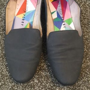 Katy Perry Grey Loafers